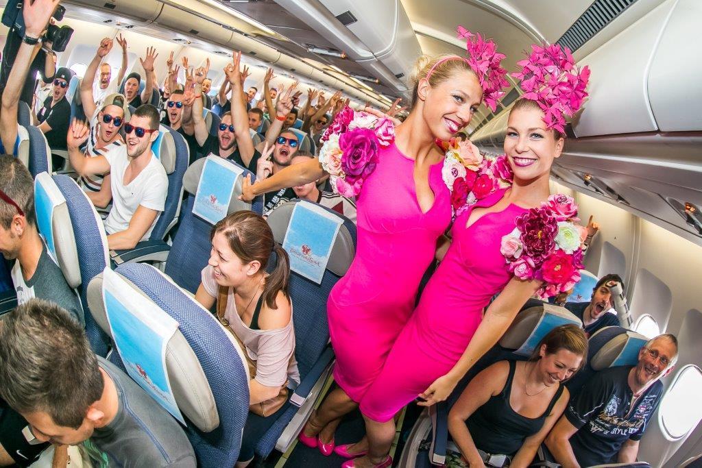 2014 party flight