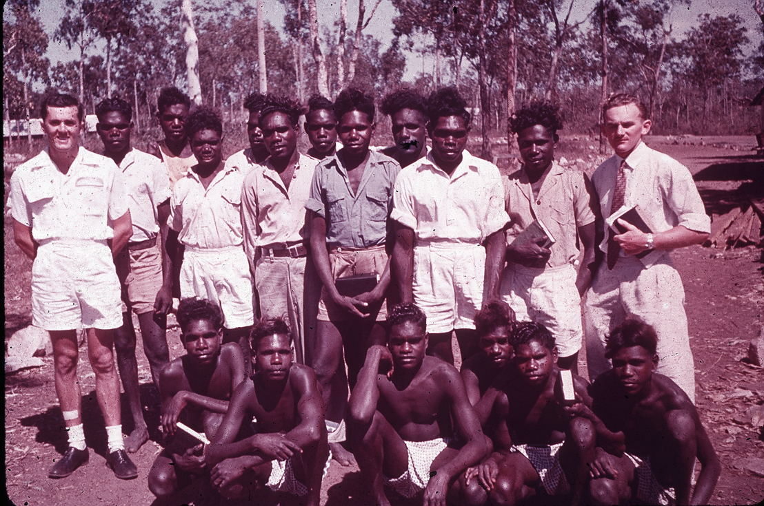 Angurugu Bible Class 1951. Image: Groote Eylandt linguistics, Keith Hart Collection