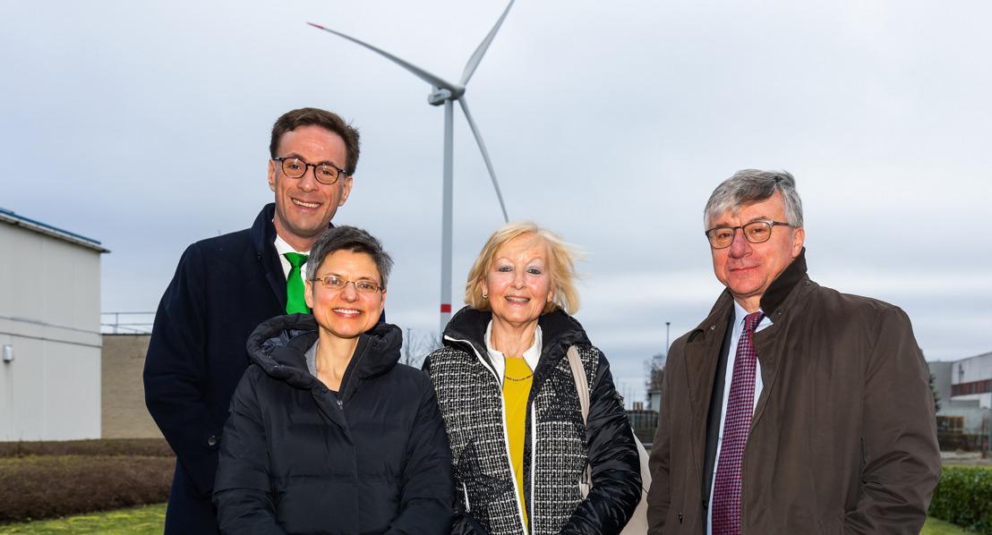 Drie nieuwe windturbines op bedrijventerrein Geel-West