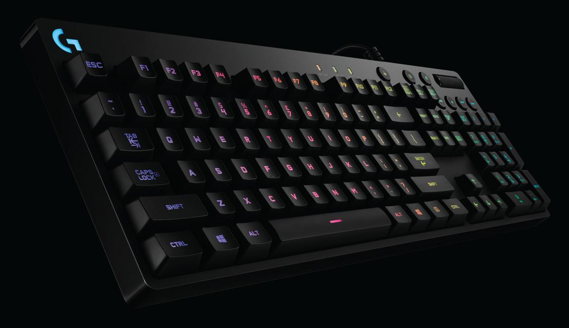 G810 Orion Spectrum RGB, el nuevo teclado mecánico para juegos de Logitech®