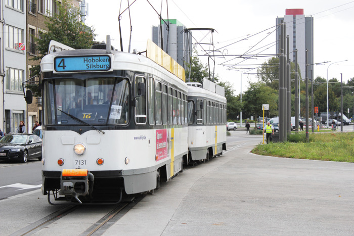Opnieuw tram van centrum Hoboken naar Antwerpen