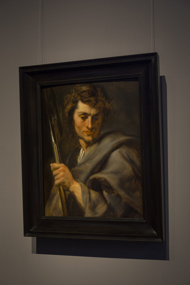 Image name: 14_Anthony van Dyck, Saint Matthew after restoratian, Rubens House, permanent loan by the King Baudouin Foundation, photo Ans Brys.jpg
