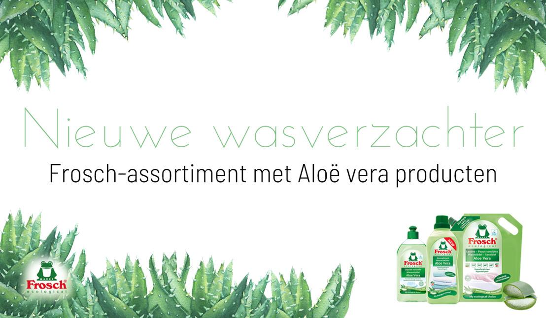Nieuwe Frosch wasverzachter met aloë vera: goed voor uw huid en voor de planeet!