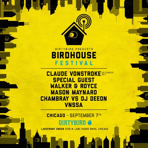 DIRTYBIRD Announces Lineup for Second Birdhouse Festival