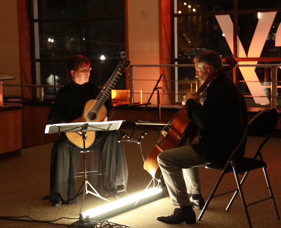Raphaella Smits en Pieter Wispelwey - (c) VRT
