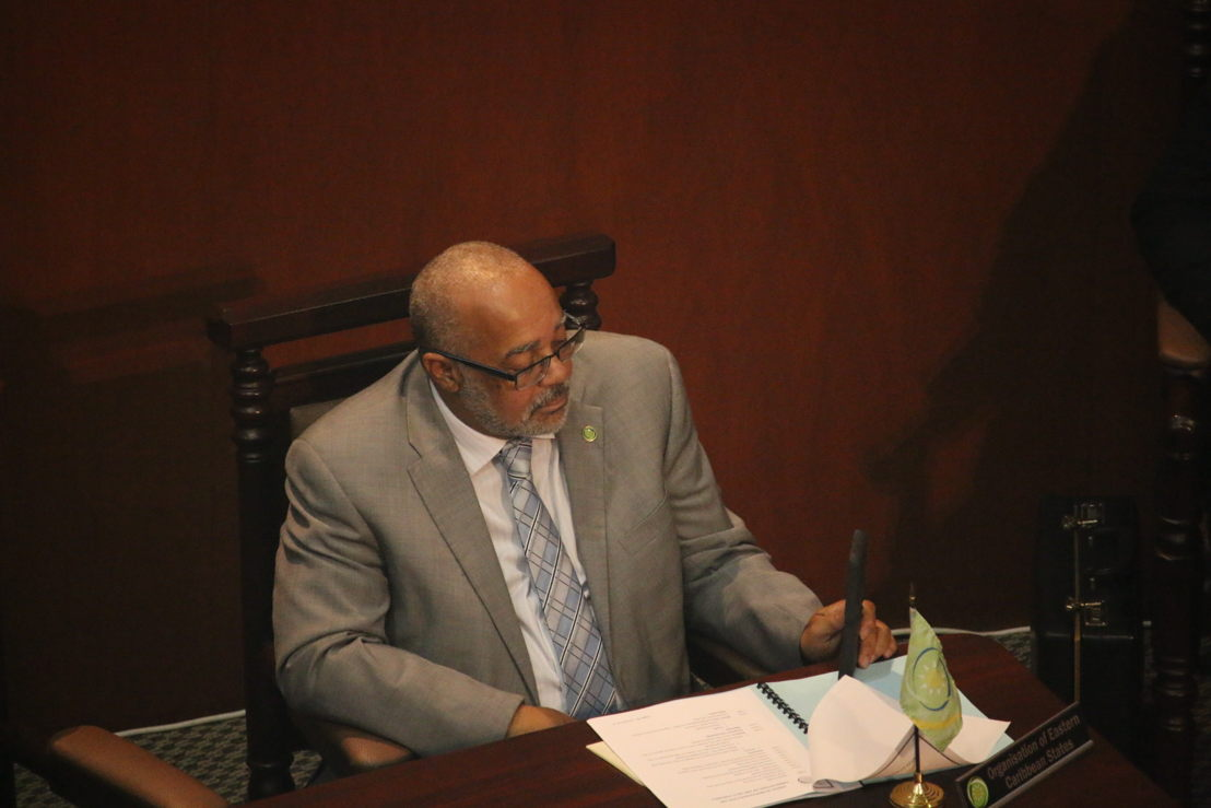 Dr Didacus Jules, Director General of the OECS Commission