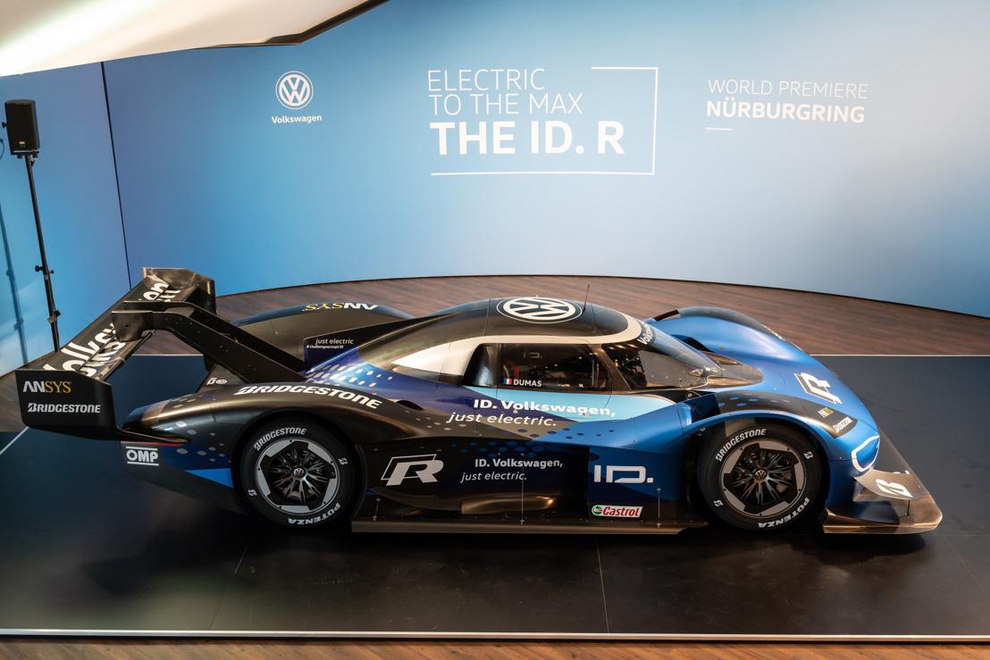 Racen met elektrische aandrijving: dubbele wereldpremière voor de nieuwe Volkswagen ID. R