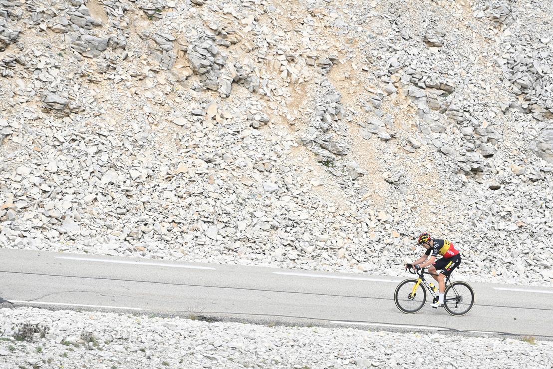 Notre homme sur le Tour : le photographe David Stockman suit le Tour de France à moto