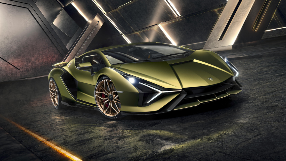 The Lamborghini Sián: Limited edition hybrid super sports car previews the future