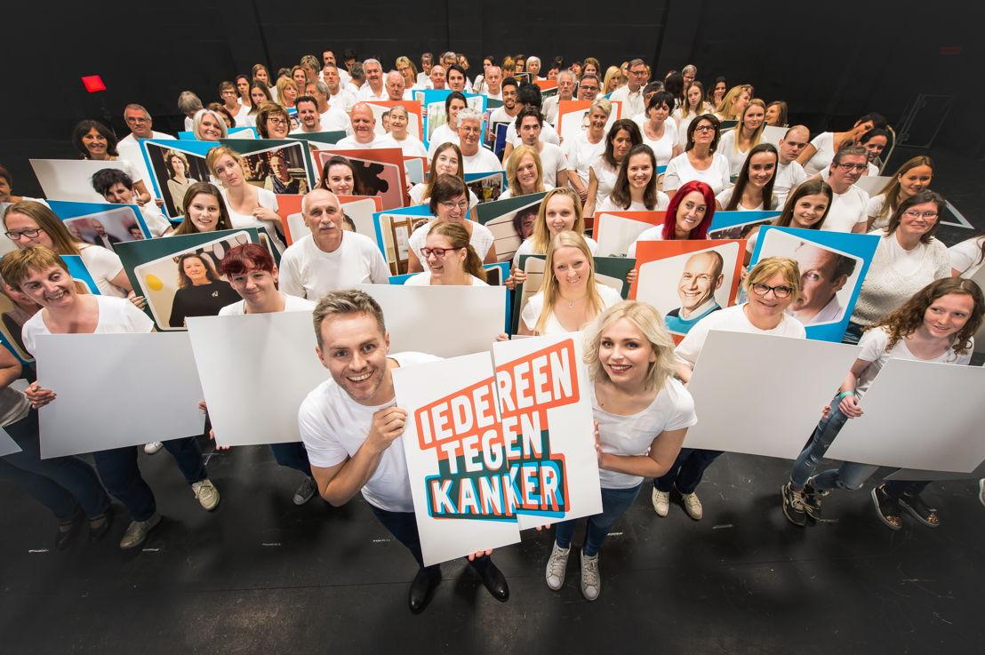 Peter &amp; Julie<br/>Iedereen tegen kanker<br/>(c) Joost Joossen / VRT