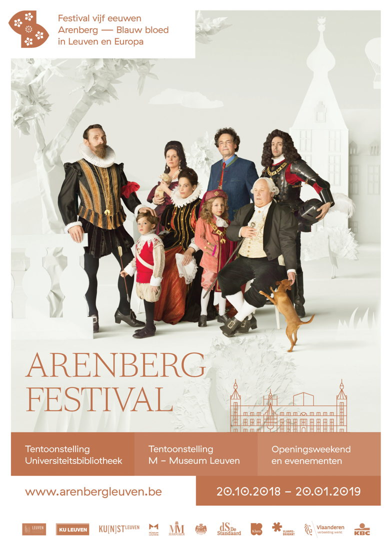 Campagnebeeld Arenberg Festival Leuven