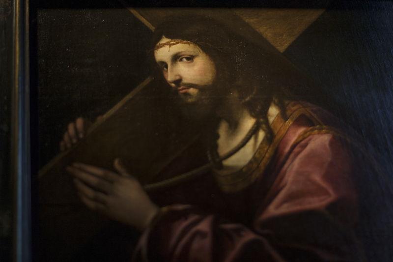 Giovanni Cariani, De kruisdraging (detail 2), particuliere verzameling, foto Ans Brys