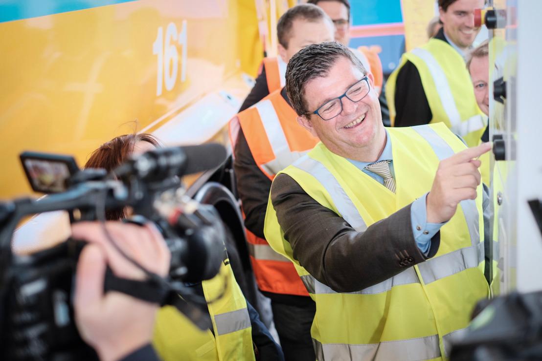 IVAGO neemt grootste aardgastankstation in België in gebruik