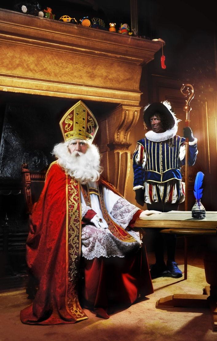 Staatsieportret van Sinterklaas en Zwarte Piet (c) Selina De Maeyer