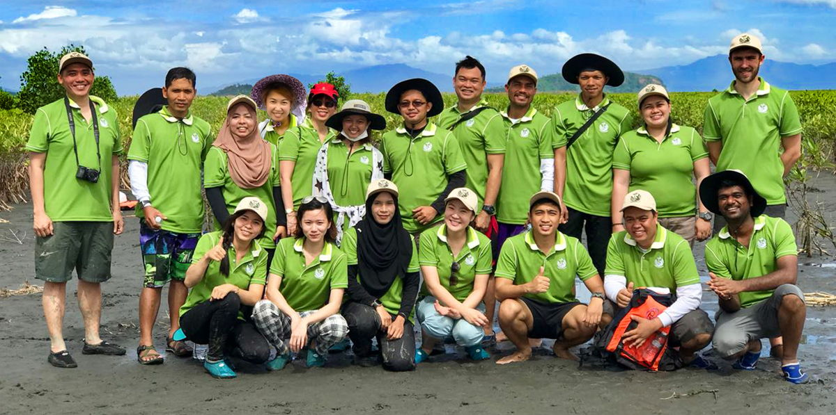 Our volunteers helped build a greener community in the Philippines