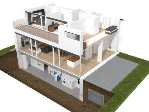 Les solutions de la Maison Verte de FACQ en réalité augmentée