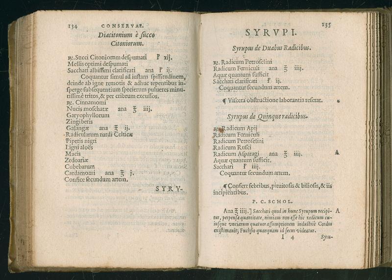 Pieter Coudenberg: Een nieuw geneesmiddelenboek<br/>Valerius Cordus, Dispensatorium (ed. Pieter Coudenberg), C. Plantin, 1568 (c) Plantin_Moretusmuseum