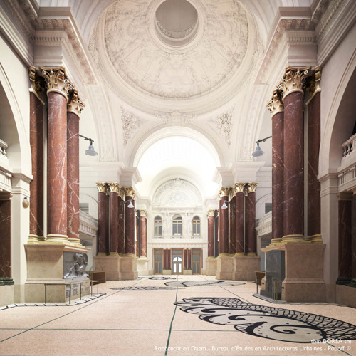Bourse: 5.5 million of Brussels Region to renovate classified heritage