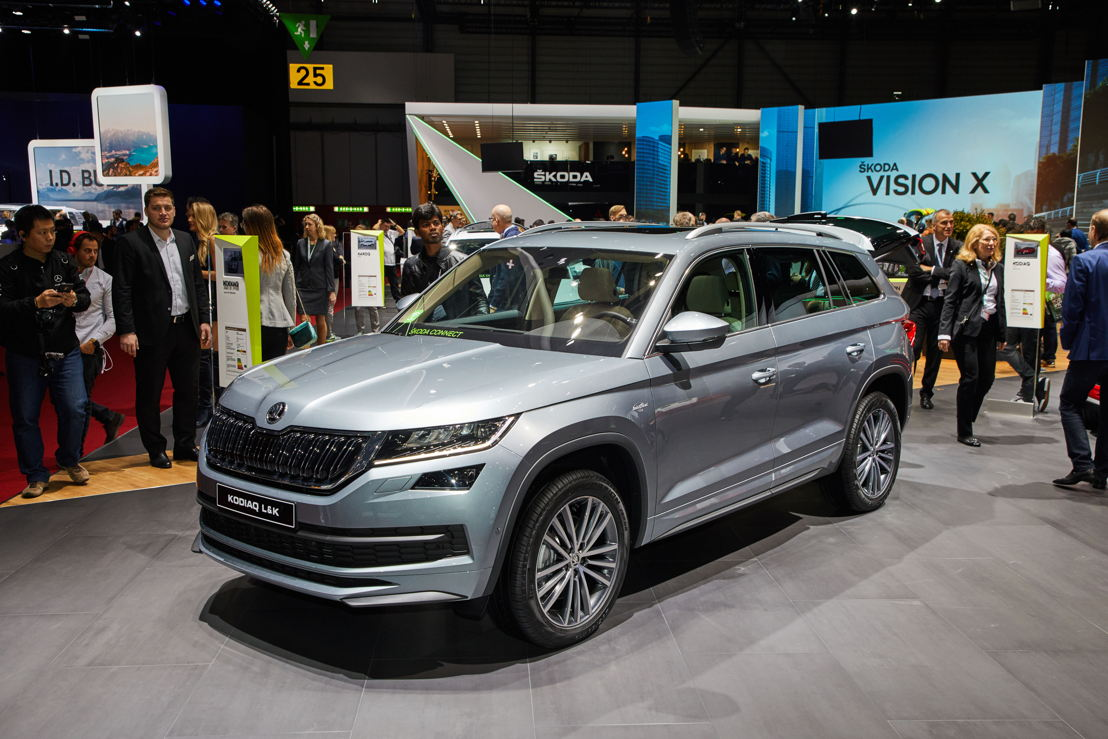 The new ŠKODA KODIAQ Laurin & Klement.