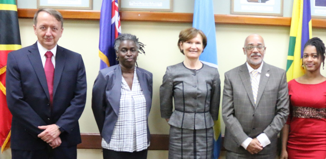 World Bank Delegation Meets with OECS Youth Advisory Network