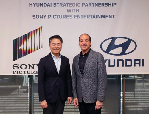 Hyundai Motor und Sony Pictures Entertainment kündigen wegweisende und breit gefächerte Partnerschaft für mehrere Filmproduktionen an