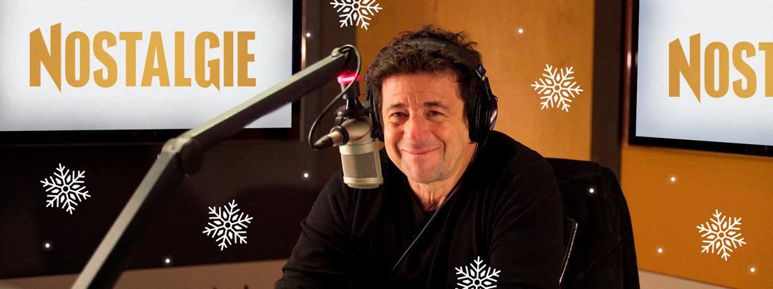 Patrick Bruel, seul aux commandes de Nostalgie pour le réveillon de Noël