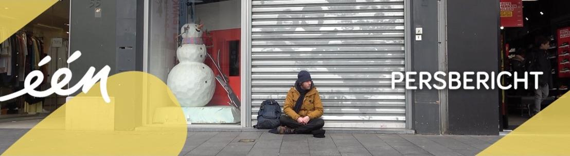 Op straat: driedelige documentairereeks rond daklozen in Antwerpen