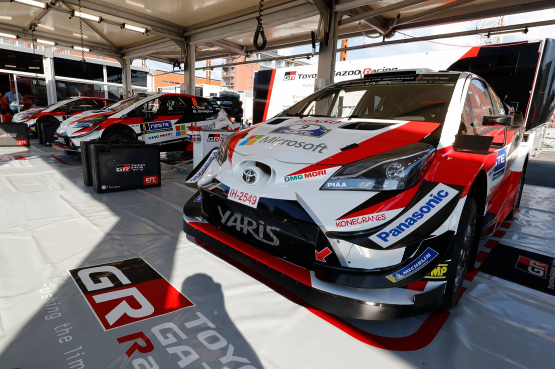 WRC RALLY TURKEY PREVIEW - TOYOTA YARIS WRC TO TAKE ON NEW GROUND IN TURKEY