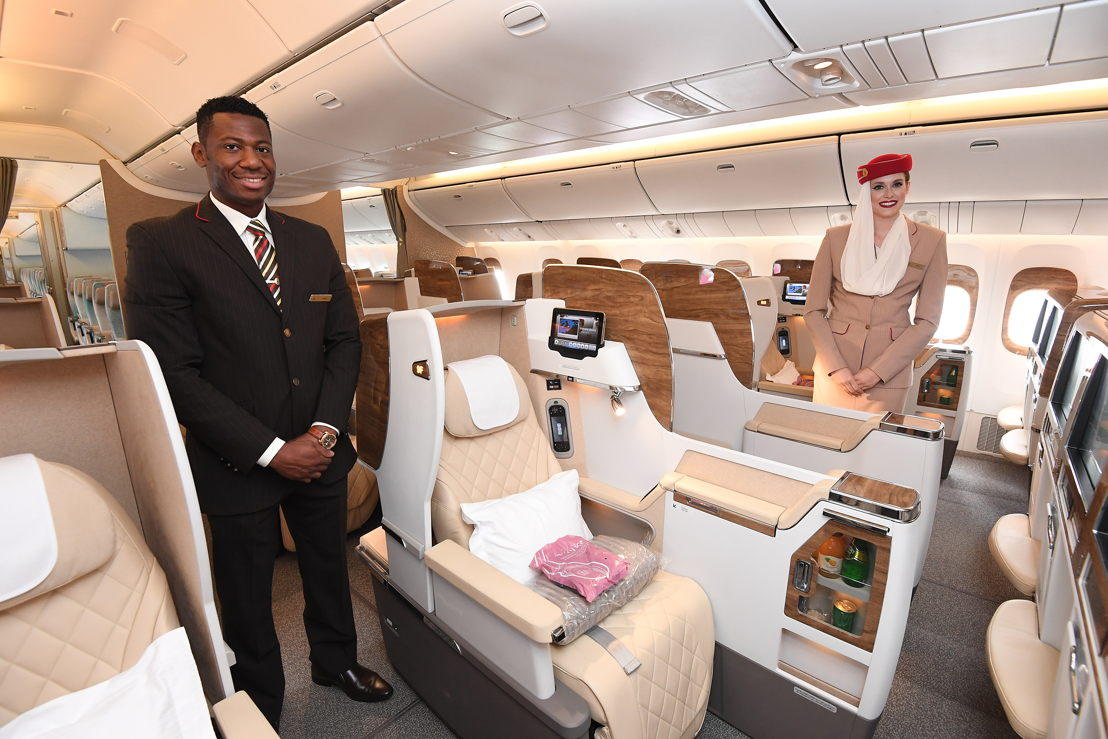 New Business Class seats.