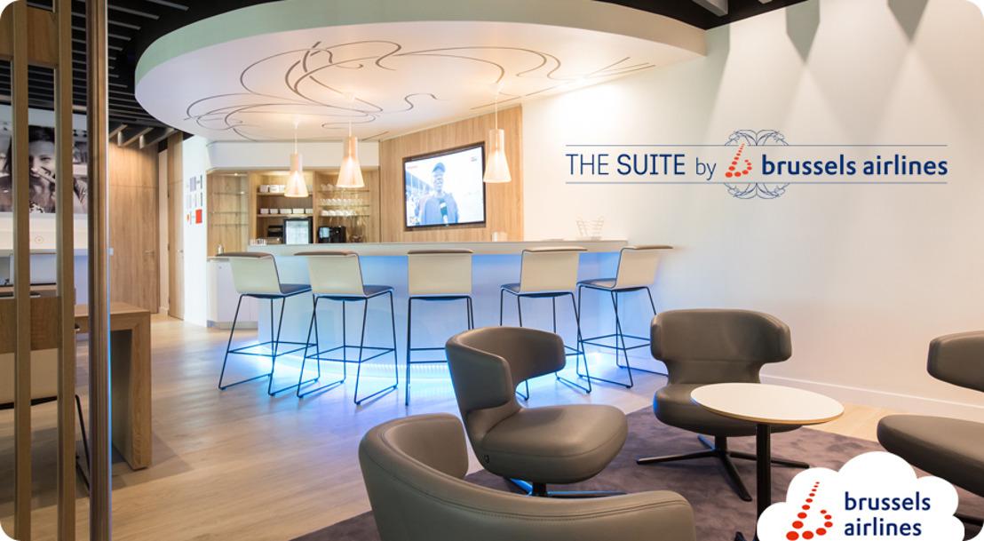 Brussels Airlines opent met 'The Suite' in Kinshasa haar eerste buitenlandse luchthavenlounge