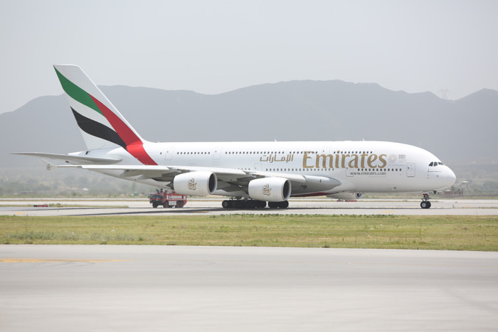Emirates makes history with one-off A380 touchdown in Islamabad
