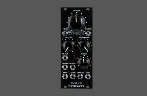 Erica Synths Introduces Black LPG