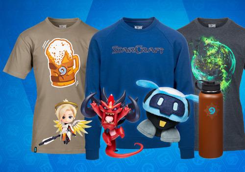 Официальная сувенирная продукция Blizzard Entertainment теперь доступна в сетях Fragstore, М.Видео и 1С Интерес