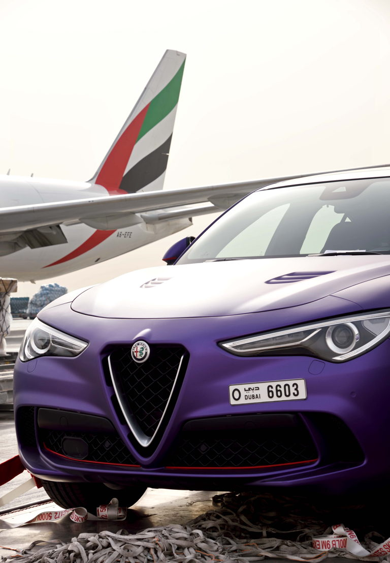 Emirates SkyCargo partnered with Gargash Gargash who are one of the largest distributors of premium and luxury cars in the UAE