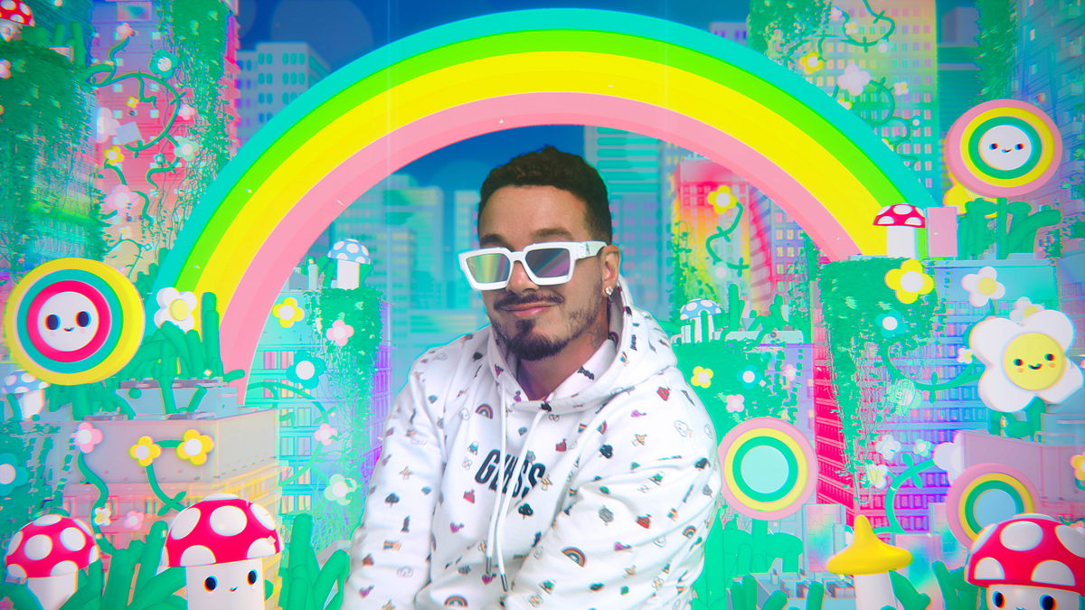 Superstar J Balvin starring the campaign