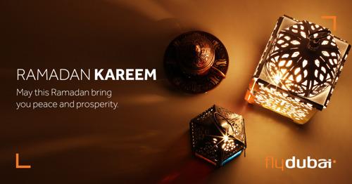 Ramadan Kareem from flydubai