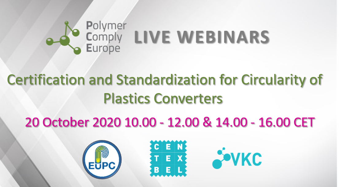 Certification and Standardization for Circularity of Plastics Converters