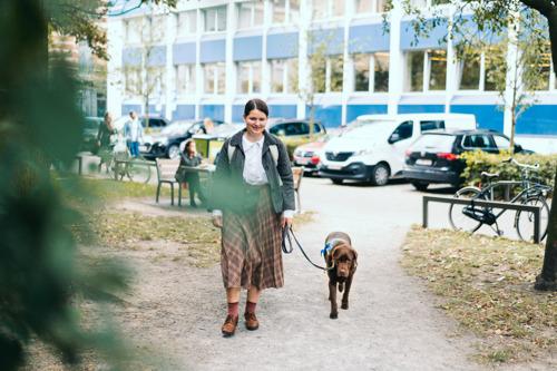 Franne en Toto: onafscheidelijk koppel op de campus