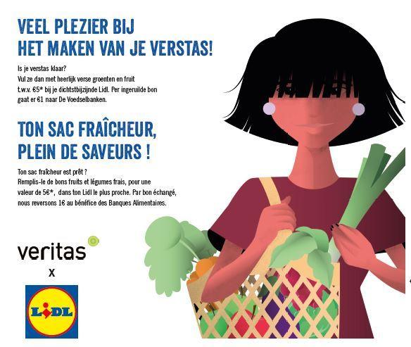 """Lidl en Veritas slaan de handen in elkaar en lanceren de """"Veritas Verstas"""""""