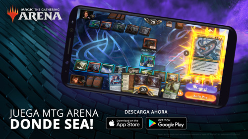 MAGIC: THE GATHERING ARENA YA ESTÁ DISPONIBLE EN DISPOSITIVOS MÓVILES ALREDEDOR DEL MUNDO