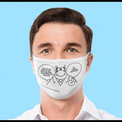 Des masques au profit de Plan International en vente sur le stibstore de la STIB