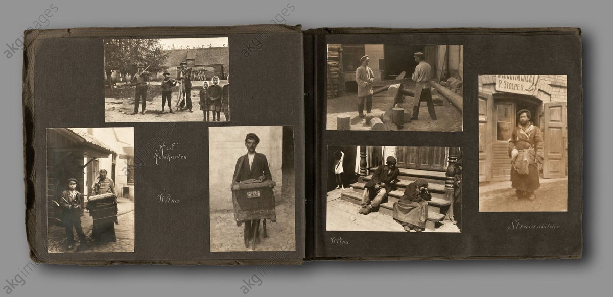 From an album with photographs taken by a German soldier in Lithuania and Poland in 1916. AKG1948061