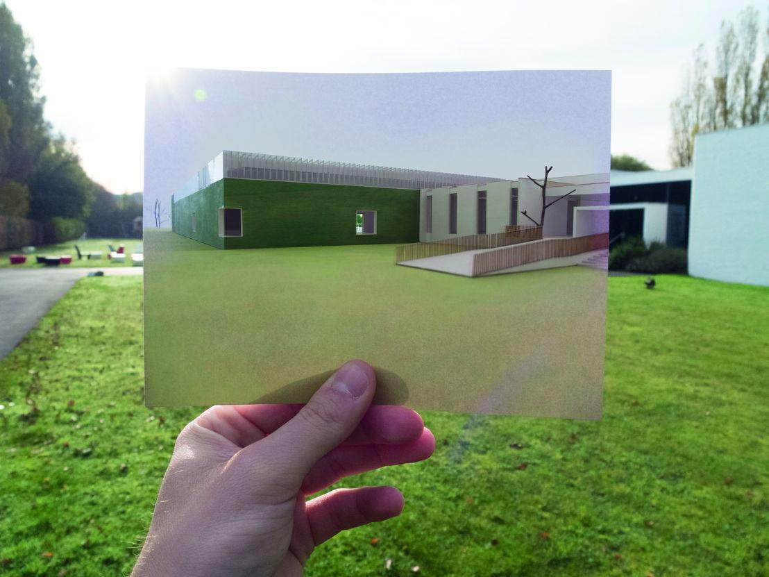 Museum Dhondt Dhaenens concept door Robbrecht en Daem Architecten foto Rik Vannevel