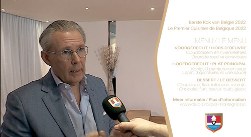 Preview: Le lapin au premier plan du concours « Premier Cuisinier de Belgique 2022 »