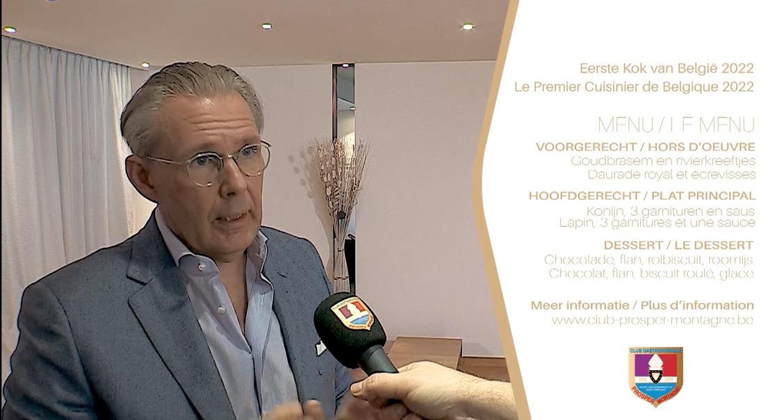 Le lapin au premier plan du concours « Premier Cuisinier de Belgique 2022 »