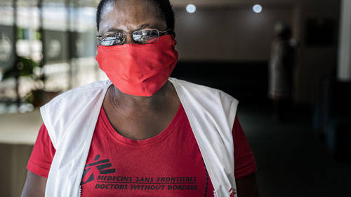 Women fighting the #COVID19 pandemic in South Africa