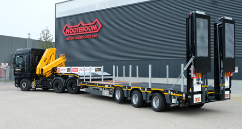 Nooteboom Academy® starts cooperation with V-TAS training for courses Code95 and Driver Abnormal Transport