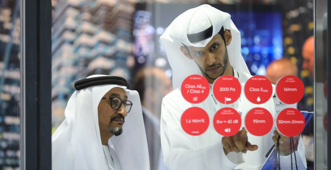 A YEAR OF BUSINESS IN THREE DAYS: PARTICIPANTS AT THE WINDOWS DOORS & FACADES EVENT IN DUBAI STRIKE MILLIONAIRE DEALS