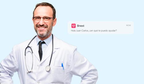 """Chat de consultas médicas, el nuevo servicio """"financiero"""" de la app Bnext para cuidar la salud sin salir de casa"""