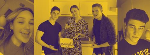 Győrfi Dani pofozkodva tanítja tojást sütni az iskolásokat TikTokon